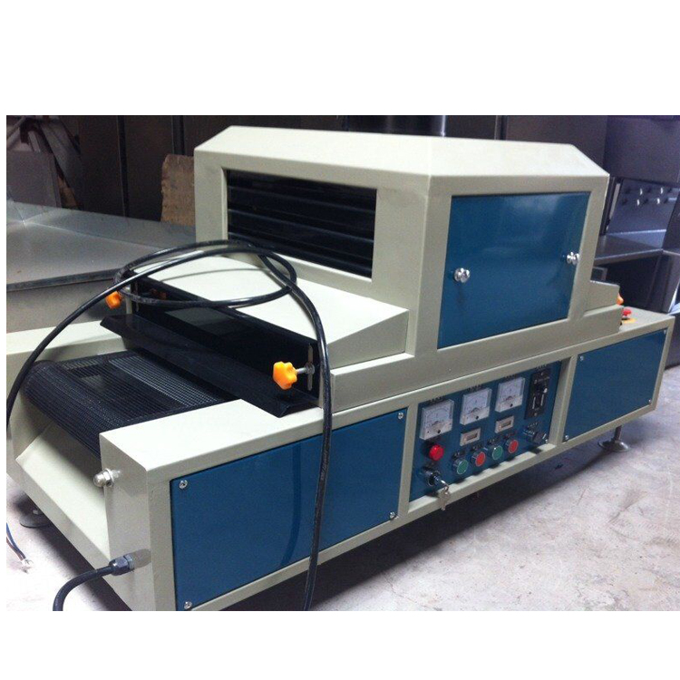 300mm width Small UV curing machine