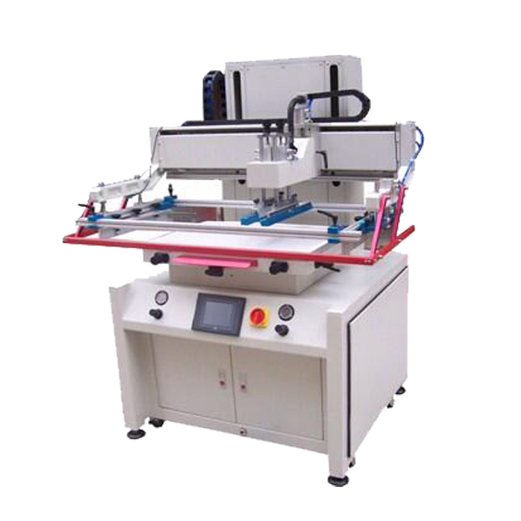 Flat bed screen printing machine LY-4060
