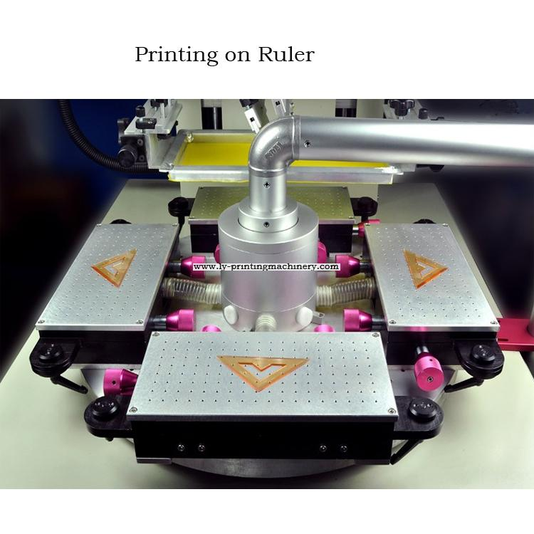 Ruler full automatic screen printer with UV system