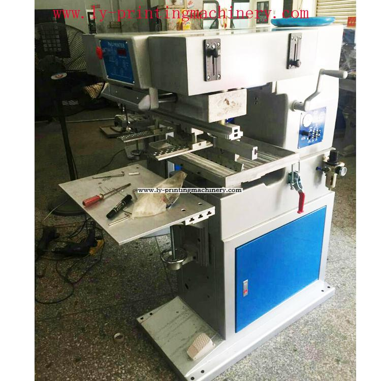 1 color fry pan pad printing machine