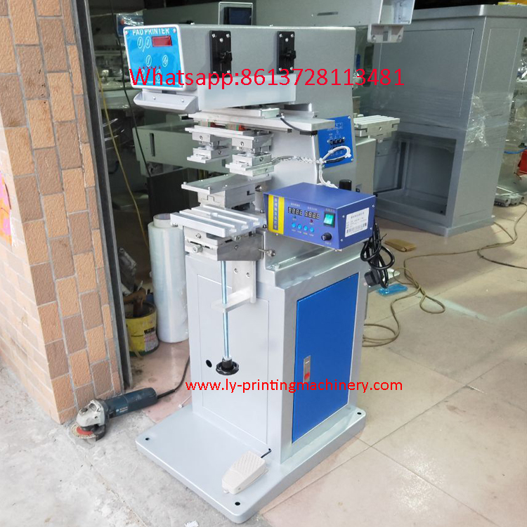 Hot Embossing plus pad printing machine